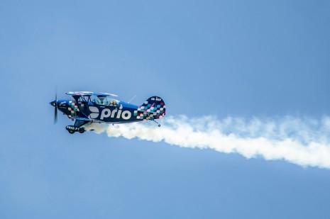 O avião PRIO está de volta