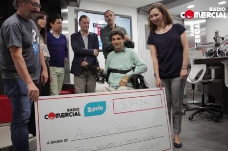 Associação Salvador recebe 4 mil euros da PRIO