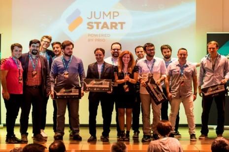 Já são conhecidas as vencedores do PRIO JumpStart