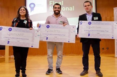 Três startups portuguesas rumam até Edimburgo