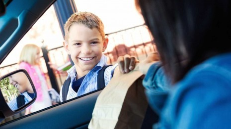 A salvação para poupar combustível na hora de ir buscar os miúdos à escola