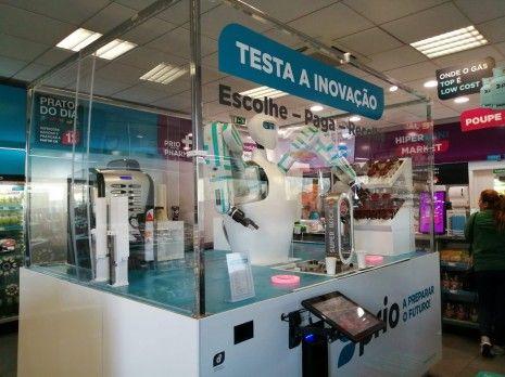 PRIO testa primeiro quiosque robótico do País no posto de Gaia
