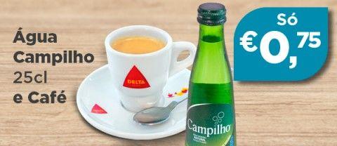 Menu água Campilho + café
