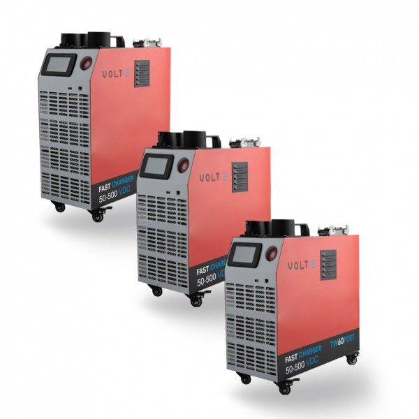 Portable DC charger up to 30KW