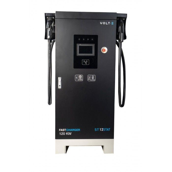Estación de carga dual ultrarrápida en CC hasta 120KW