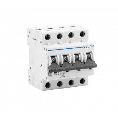 40A 4-pole D-Curve Circuit Breaker