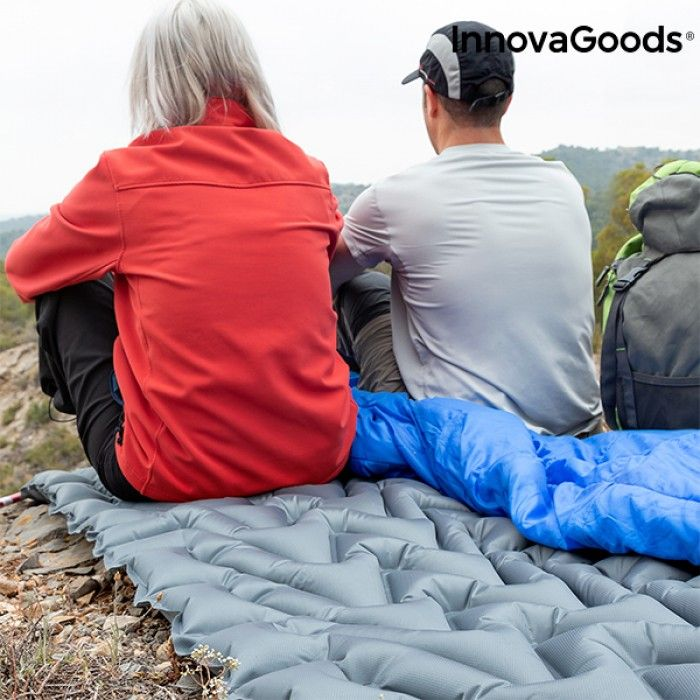 Inflatable Airbed and Pillow Ultralight InnovaGoods