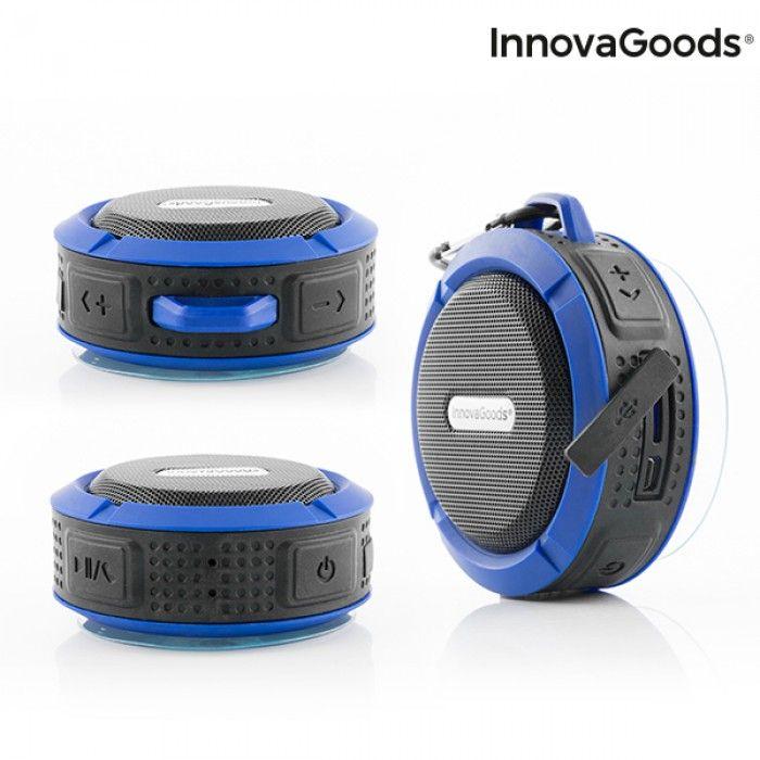 Altavoz Bluetooth Inalámbrico Portátil Waterproof DropSound InnovaGoods