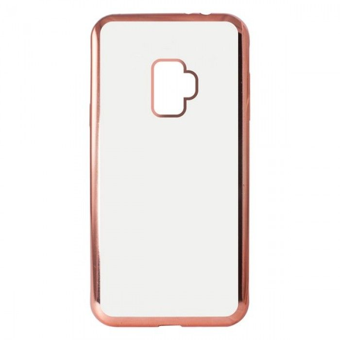 Funda para Móvil Samsung Galaxy S9 KSIX Flex Metal TPU Flexible