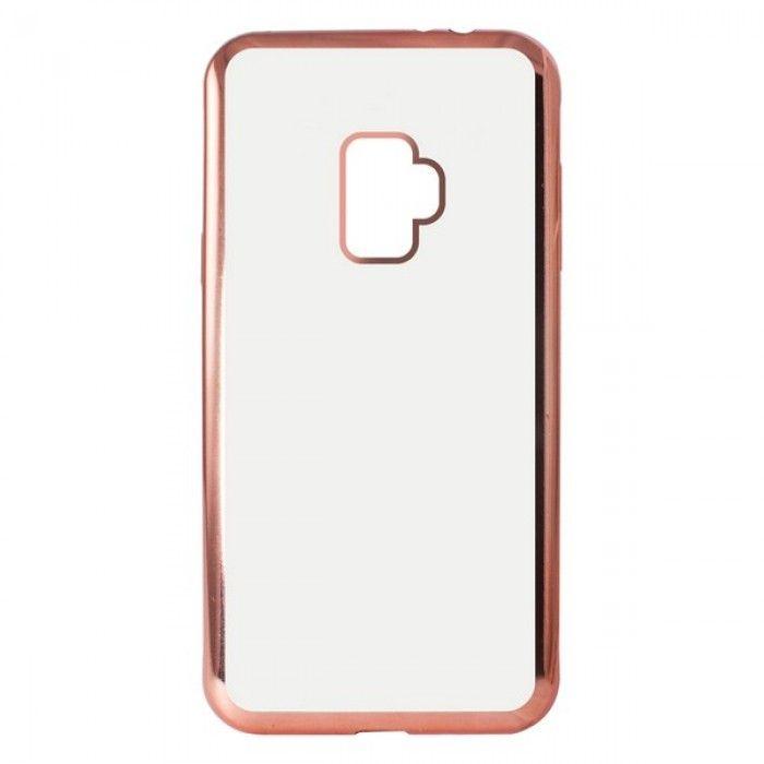 Mobile cover Samsung Galaxy S9 KSIX Flex Metal TPU Flexible
