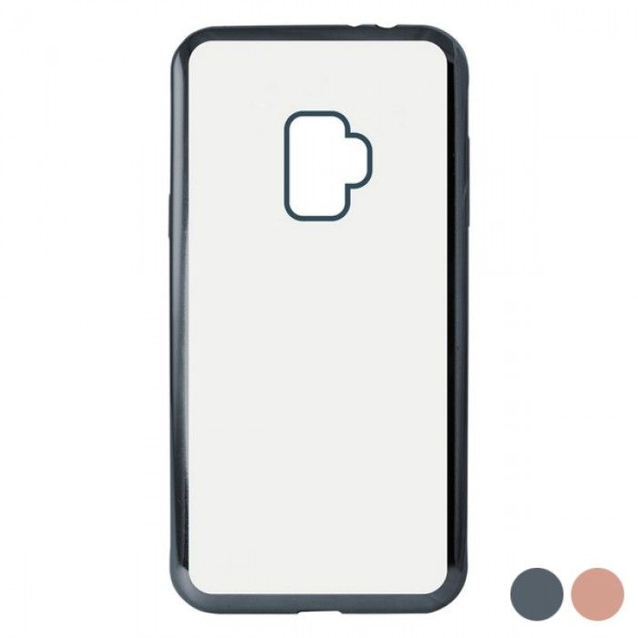Capa para Telemóvel Samsung Galaxy S9 KSIX Flex Metal TPU Flexível