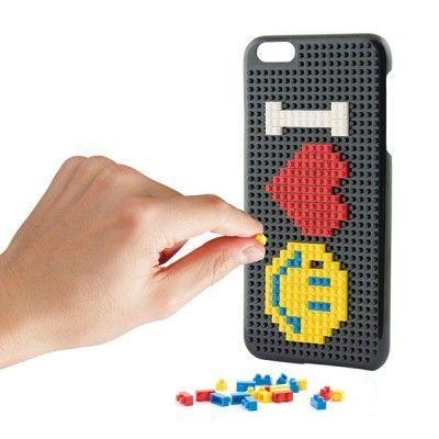 Capa para Telemóvel Iphone 7 Plus KSIX Play Block Preto