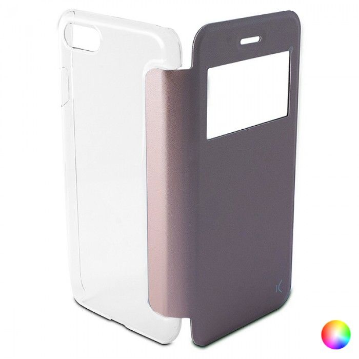 Folio Mobile Phone Case Iphone 8/7 KSIX Crystal View