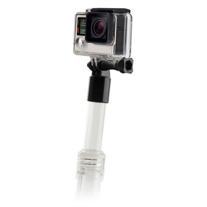 Palo Selfie Flotante para Cámara Deportiva KSIX Transparente