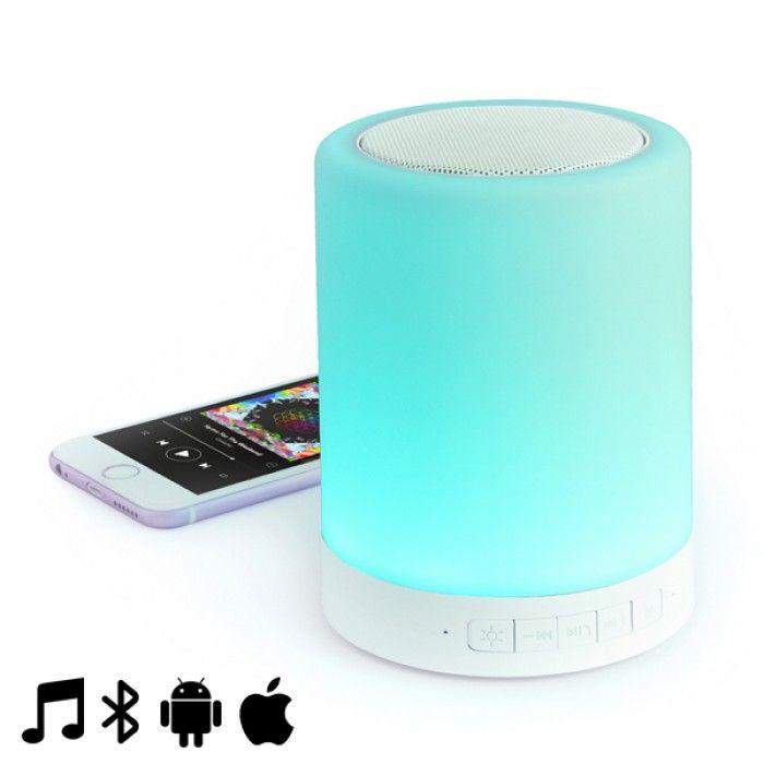 Altavoz Bluetooth con Lámpara LED LED 3W 145153