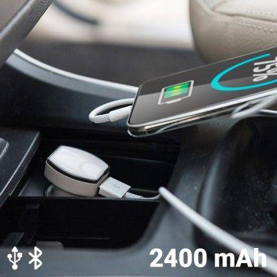 Carregador USB com GPS para o Carro 2400 mAh 145823