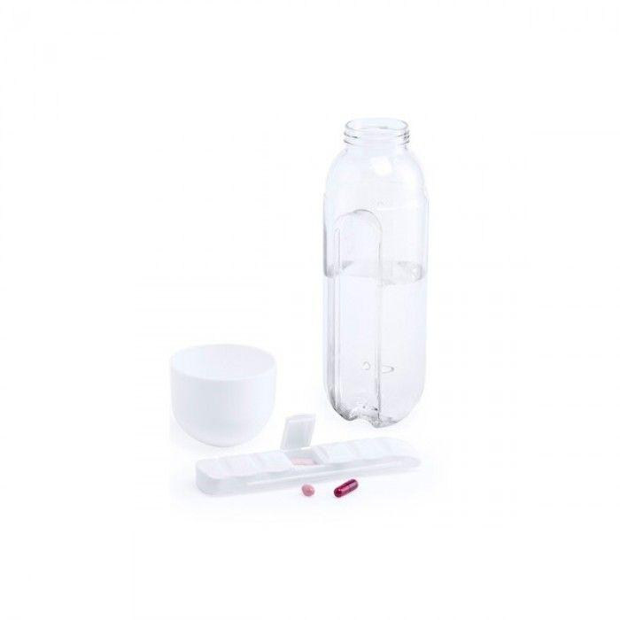Tritan Water Bottle with Pill Organiser (730 ml) 145884