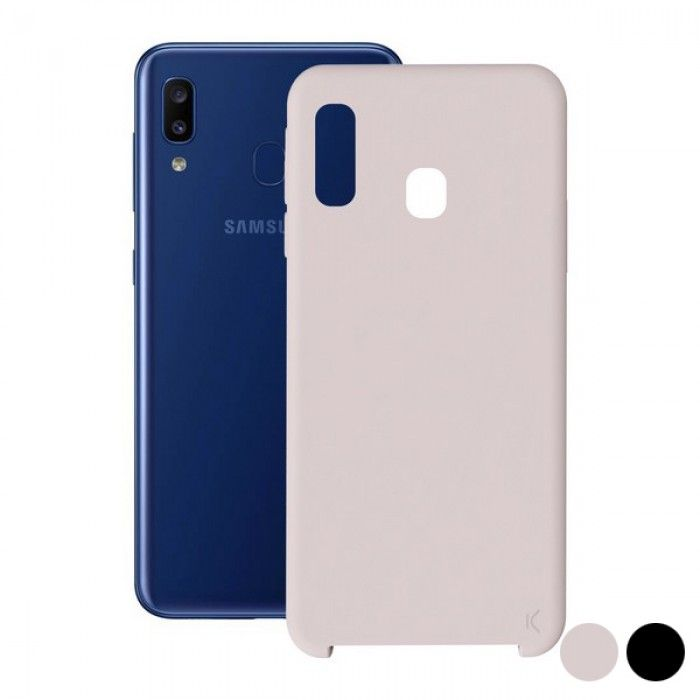 Mobile cover Samsung Galaxy A20 KSIX Soft