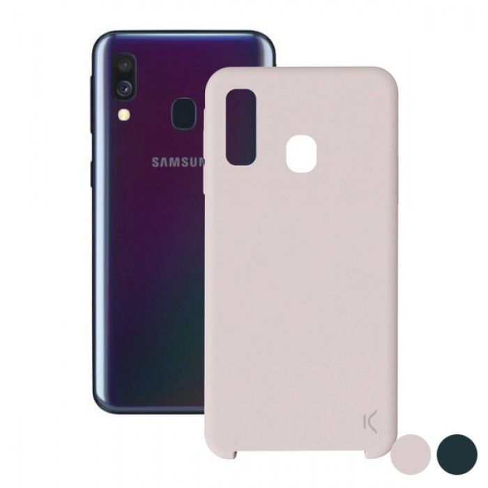 Mobile cover Samsung Galaxy A40 KSIX Soft