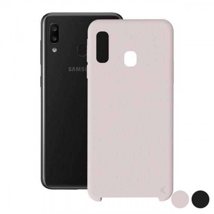 Mobile cover Samsung Galaxy A30 KSIX Soft