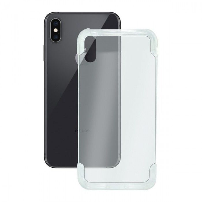 Funda para Móvil Iphone Xs Max KSIX Flex Armor Transparente