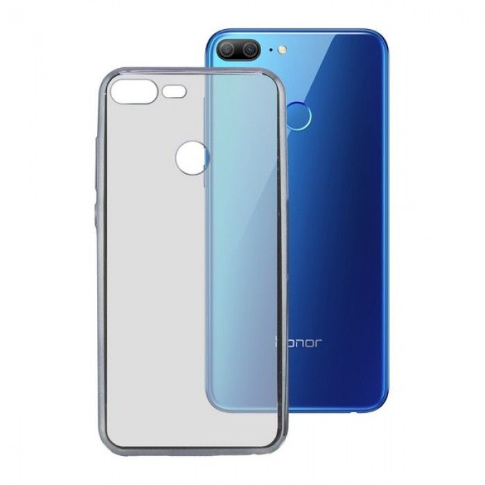 Funda para Móvil Honor 9 Lite KSIX Flex Gris