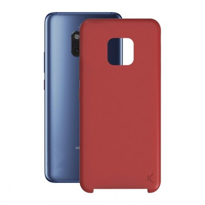 Mobile cover Huawei Mate 20 Pro KSIX Soft Red