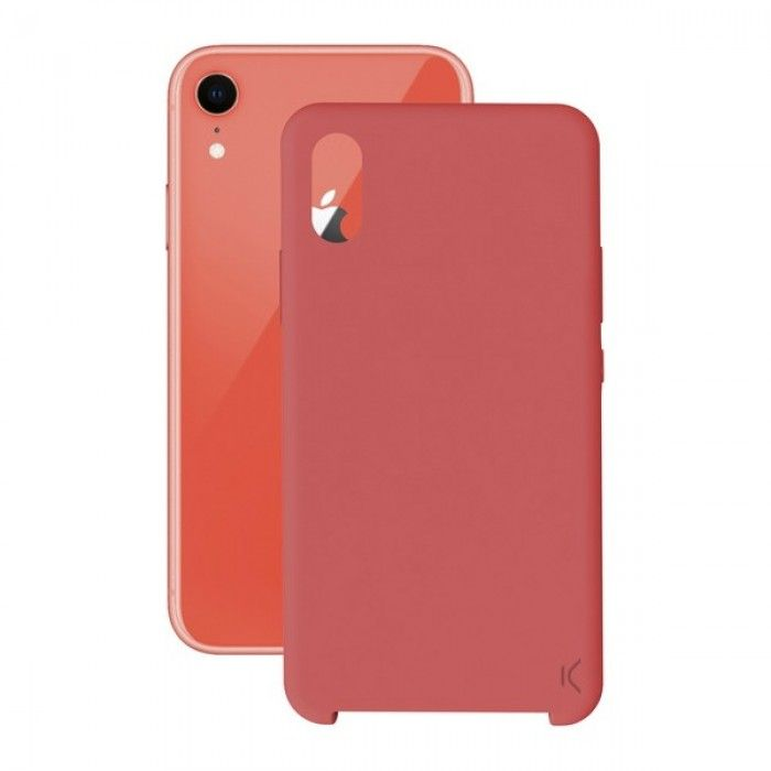 Mobile cover Iphone Xr KSIX Soft Red
