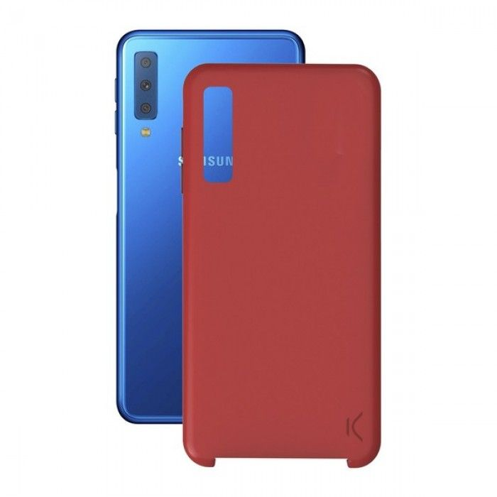 Mobile cover Samsung Galaxy A7 Soft Red