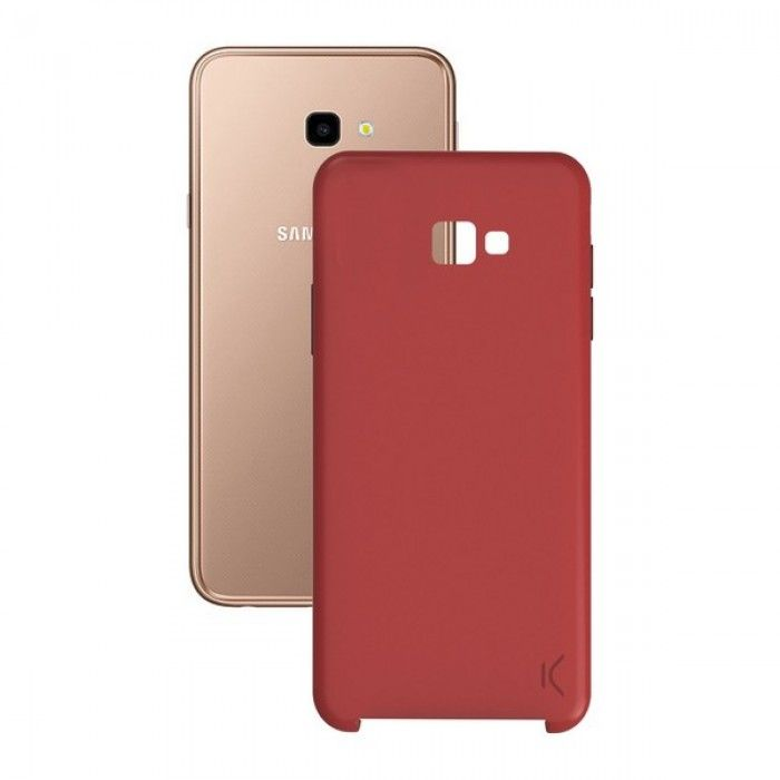 Mobile cover Samsung Galaxy J4+ 2018 Soft Red