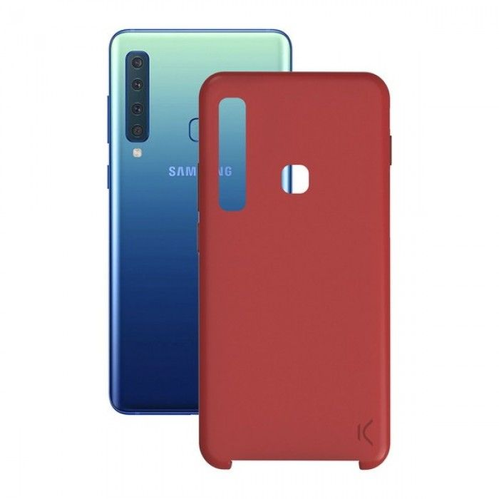 Mobile cover Galaxy A9 2018 Soft Red