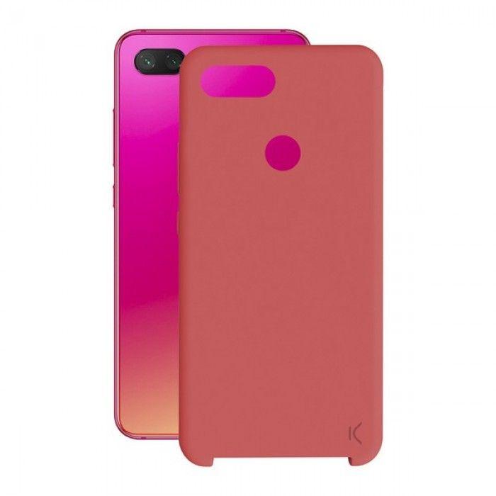Mobile cover Xiaomi Mi 8 Lite KSIX Soft Red