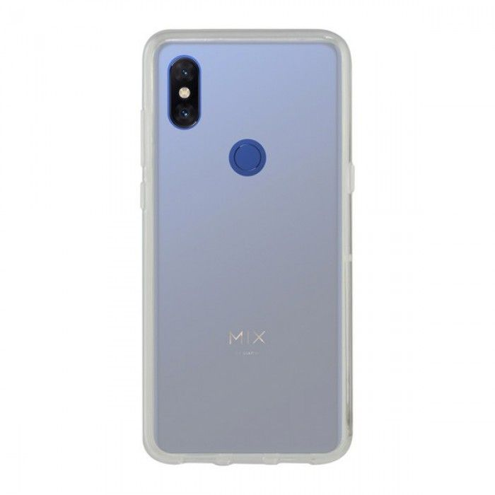 Capa para Telemóvel Xiaomi Mi Mix 3 5g KSIX Flex Transparente