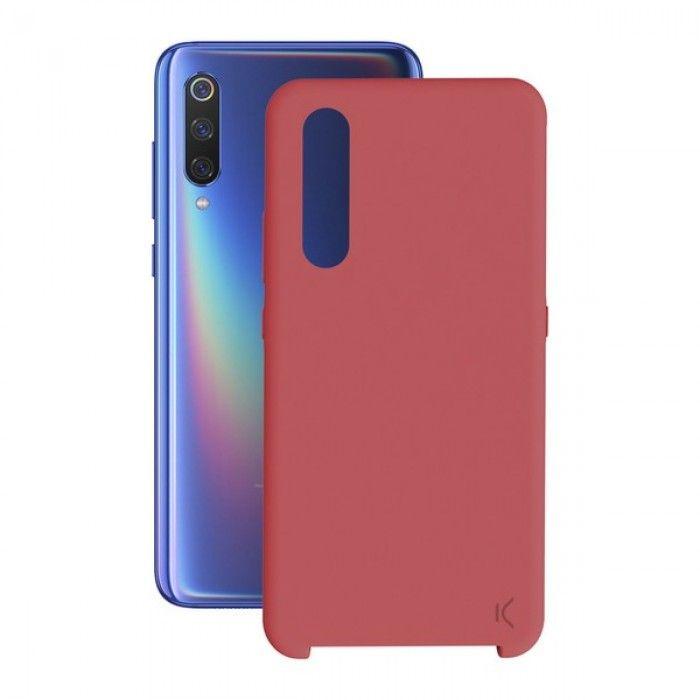 Mobile cover Xiaomi Mi 9 KSIX Soft Red