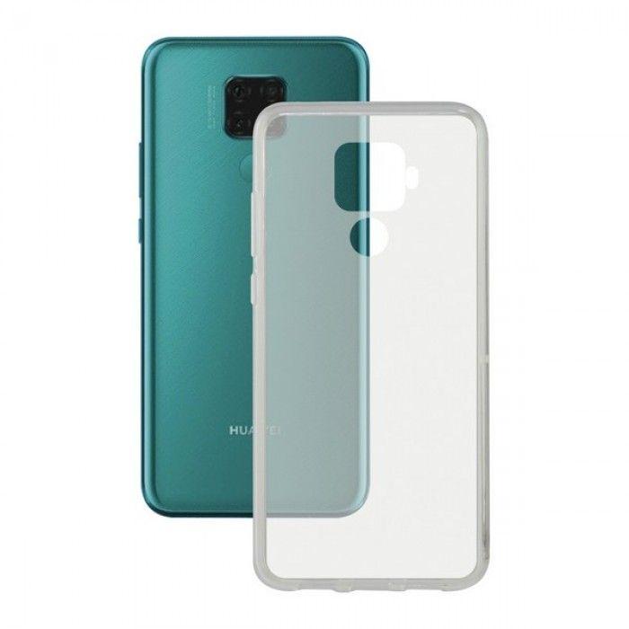 Capa para Telemóvel Huawei Mate 30 KSIX Flex Transparente