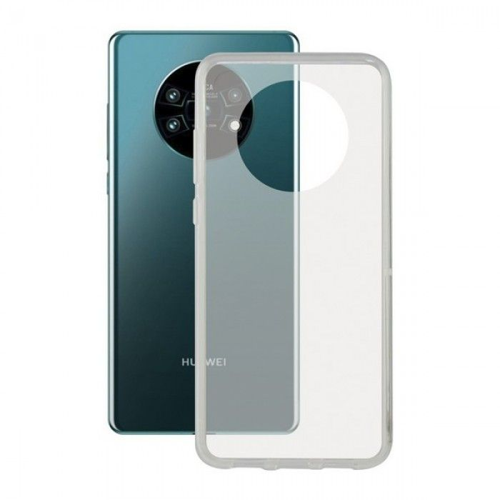 Mobile cover Huawei Mate 30 Pro KSIX Flex Transparent
