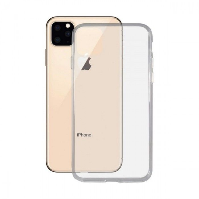 Funda para Móvil Iphone 11 KSIX Transparente