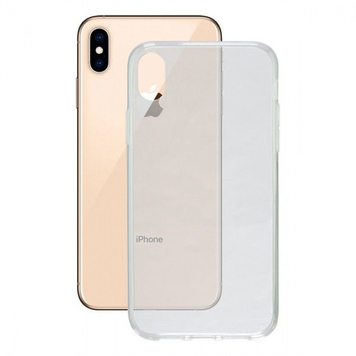 Mobile cover Iphone Xs Max Contact Flex TPU Transparent