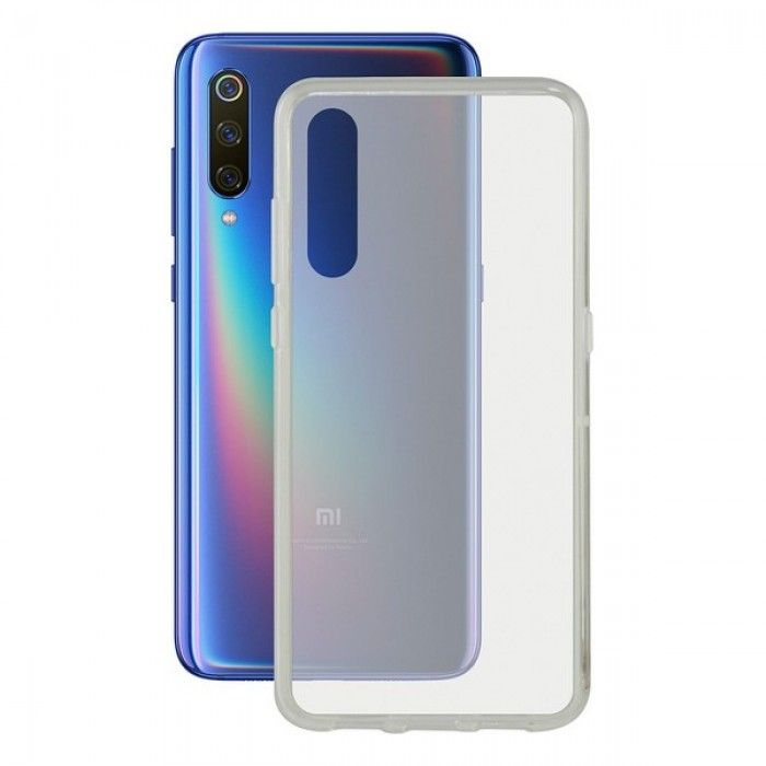 Funda para Móvil Xiaomi Mi 9t Contact Flex TPU Transparente