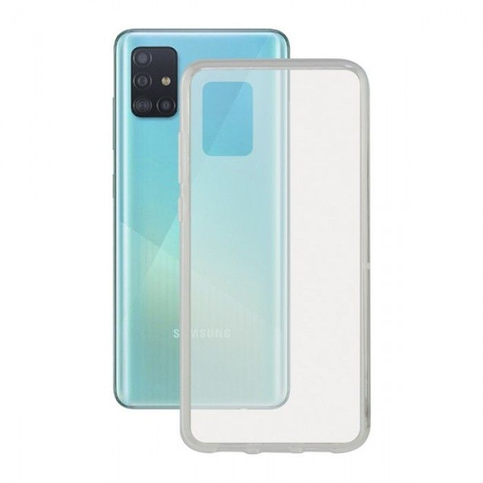 Funda para Móvil con Borde de TPU Samsung Galaxy A51 Contact Flex