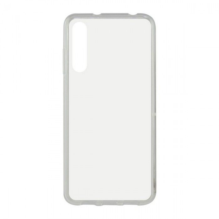 Capa para o Telemóvel com Extremidades em TPU Huawei P Smart Pro 2019 KSIX Flex Transparente