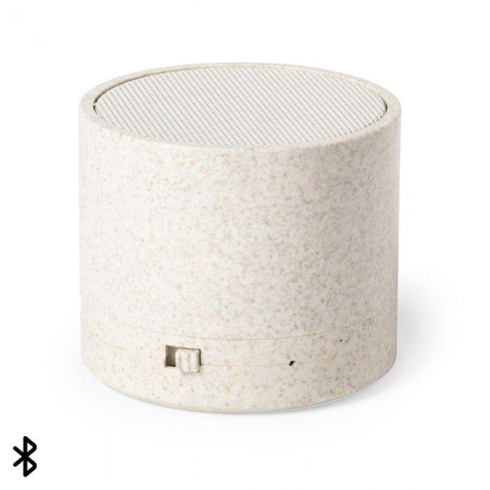 Bluetooth Speakers 3W 146540 Wheat straw Abs