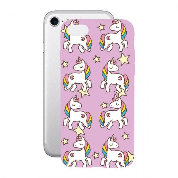 Mobile cover Iphone 7/8 KSIX Flex TPU Unicorn