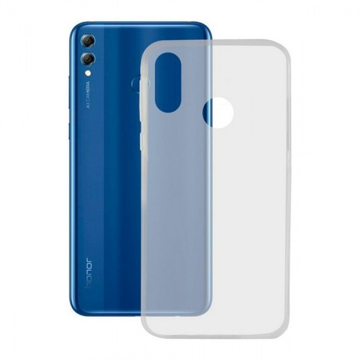 Capa para Telemóvel Honor 8x Contact Flex TPU Transparente