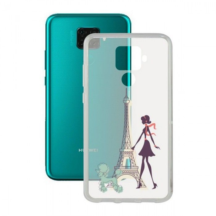Funda para Móvil Huawei Mate 30 Lite Contact Flex France TPU