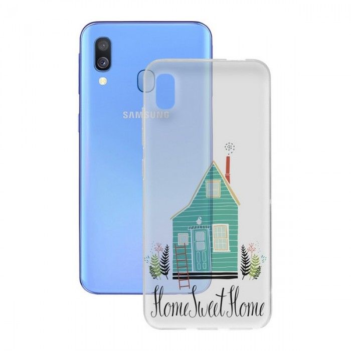 Mobile cover Samsung Galaxy A40 Contact Flex Home TPU