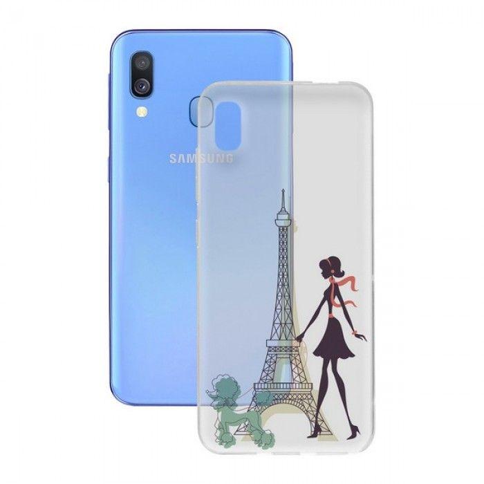 Capa para Telemóvel Samsung Galaxy A40 Contact Flex France TPU