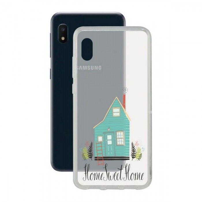 Funda para Móvil Samsung Galaxy A10e Contact Flex Home TPU