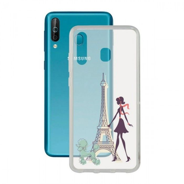 Capa para Telemóvel Samsung Galaxy A40s Contact Flex France TPU