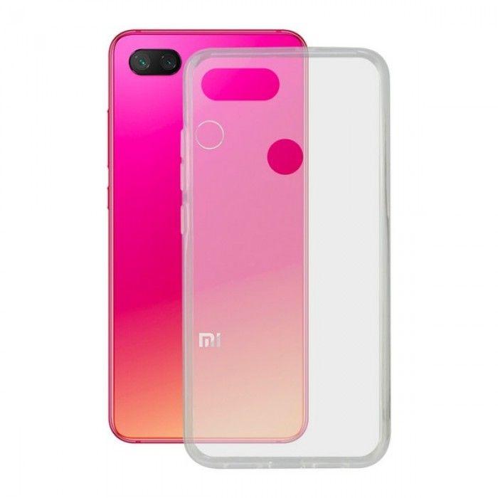 Capa para Telemóvel Xiaomi Mi 8 Lite Contact Flex TPU Transparente